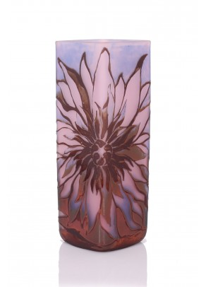 Faerie Vase Cameo Glass - Galle type