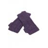Yara White - baby alpaca fingerless gloves