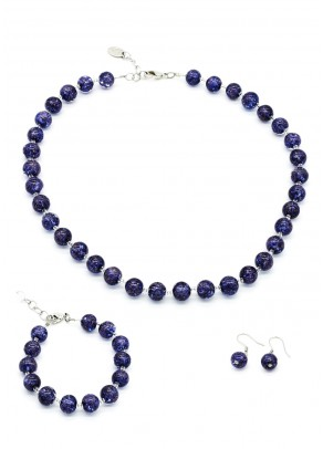 Murano Set Sommerso 10 mm - 3 piese