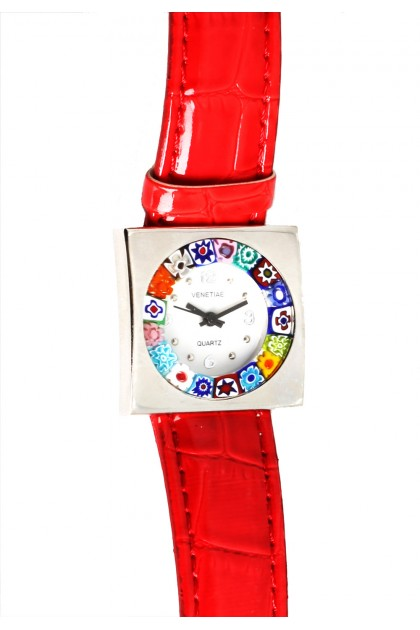 Quadro Watch with murrine