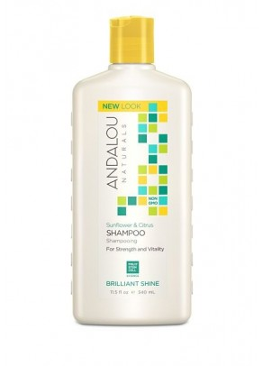 Sunflower & Citrus Brillant Shine Shampoo (with Organic Fruit Stem Cells)