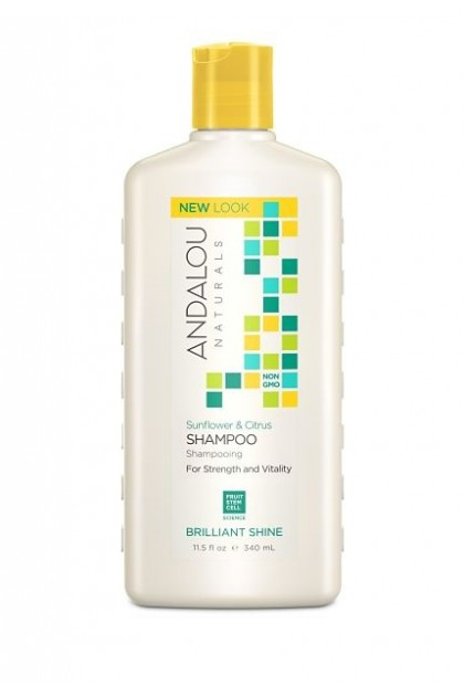 Sunflower & Citrus Brillant Shine Organic Shampoo