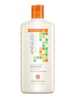 Argan Oil & Shea Moisture Rich Shampoo