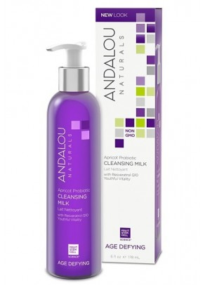Apricot Probiotic Cleansing Milk (with Resveratrol, Coenzyme Q10 and Organic Fruit Stem Cells)
