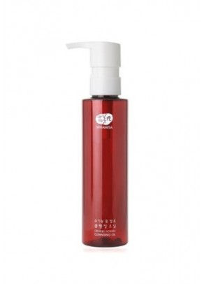 Organic Flowers Cleansing Oil with Japanese Camellia and Sacred Lotus - 150 ml