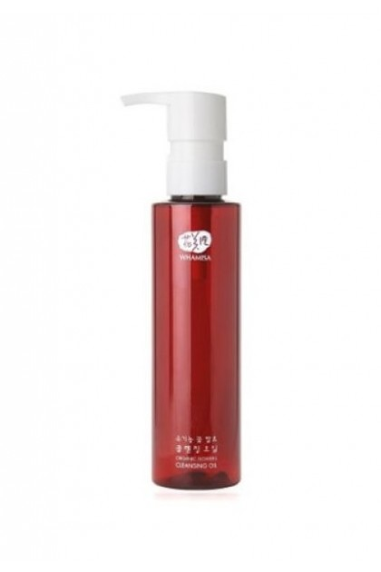 Organic Flowers Cleansing Oil with Avocado, Japanese Camellia and Sacred Lotus - 150 ml