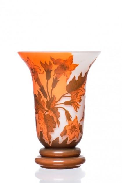 "Vaza tip Galle ""Orange Daffodils"""