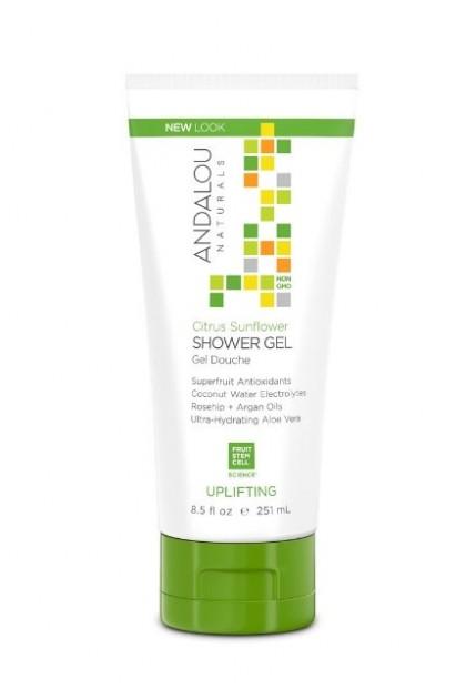 Citrus Sunflower Uplifting Organic Shower Gel
