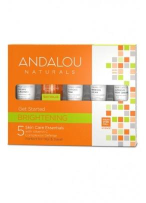 Set cadou cosmetice revitalizante cu extracte organice si celule stem din fructe