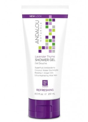 Clementine Ginger Energizing Shower Gel (with Organic Fruit Stem Cells)
