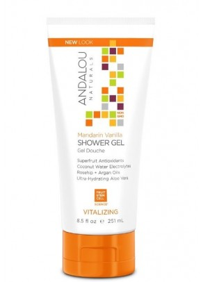 Mandarin Vanilla Vitalizing Shower Gel (with Organic Fruit Stem Cells)