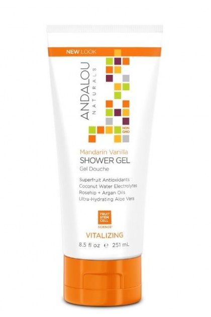 Mandarin Vanilla Vitalizing Organic Shower Gel