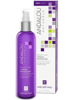 Blossom+Leaf Toning Organic Refresher (with Resveratrol, Coenzyme Q10 and Organic Fruit Stem Cells)